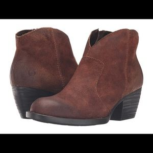 Born Mitchel ankle boots 7,5 Tobacco distressed